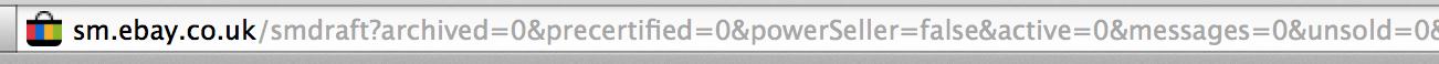 eBay XSS URL parameters